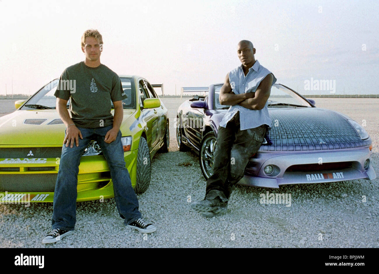 PAUL WALKER TYRESE GIBSON 2 FAST FURIOUS THE AND 2003