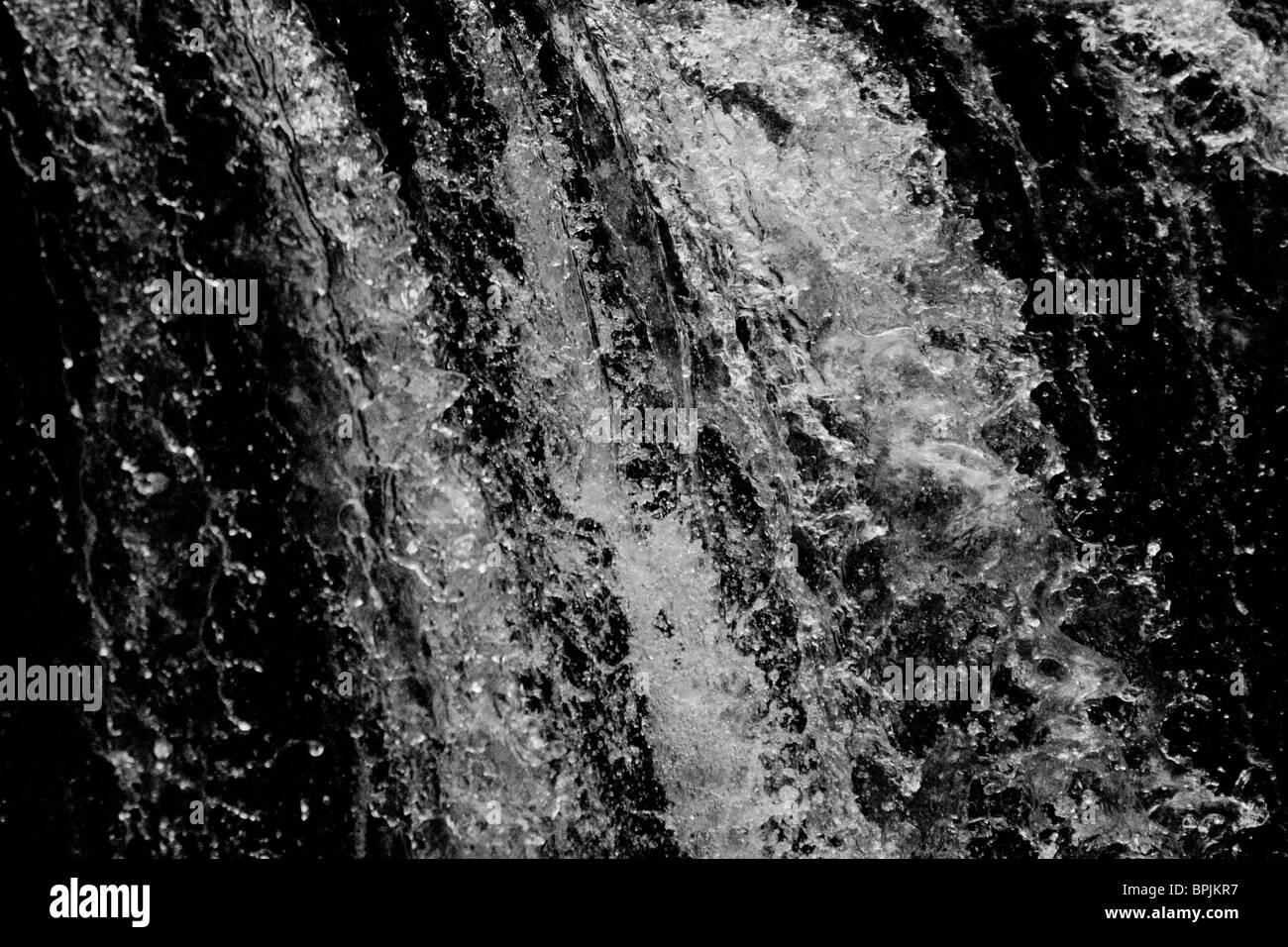 Freeze frame water - black background Stock Photo: 31143483 - Alamy