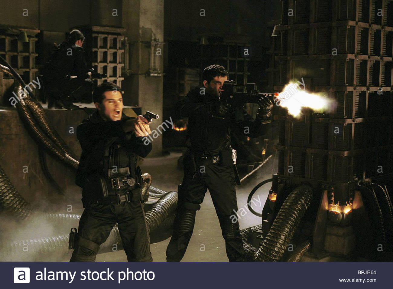 MARTIN CREWES RESIDENT EVIL (2002) - Stock Image