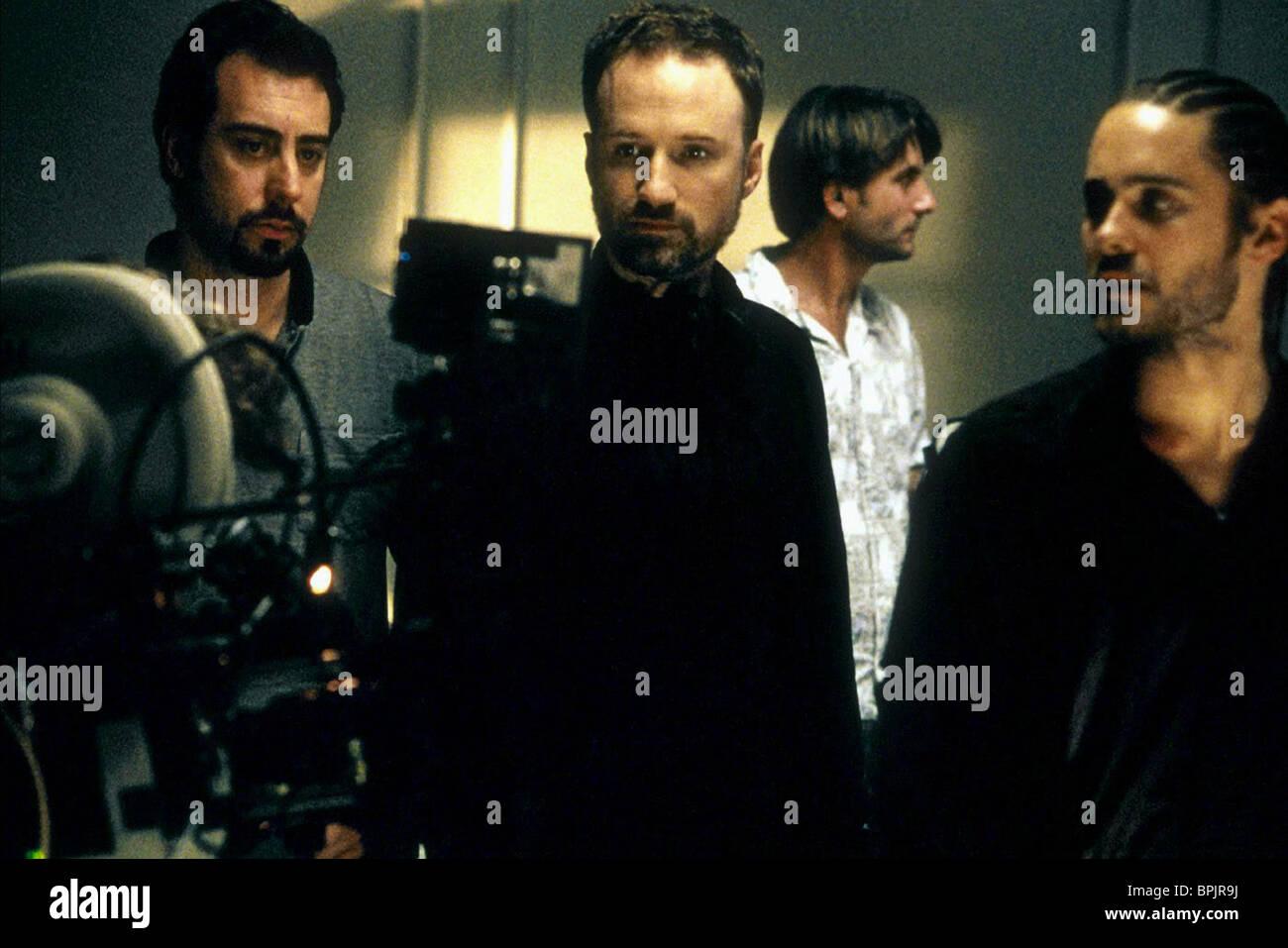 David Fincher Jared Leto Panic Room 2002 Stock Photo Alamy