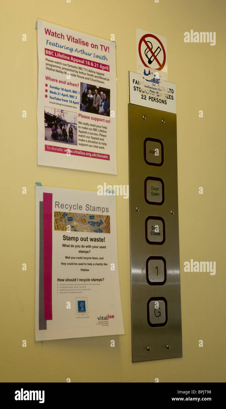 Disability access _Vitalise Respite Care Centre, Southport, Merseyside, UK - Stock Image