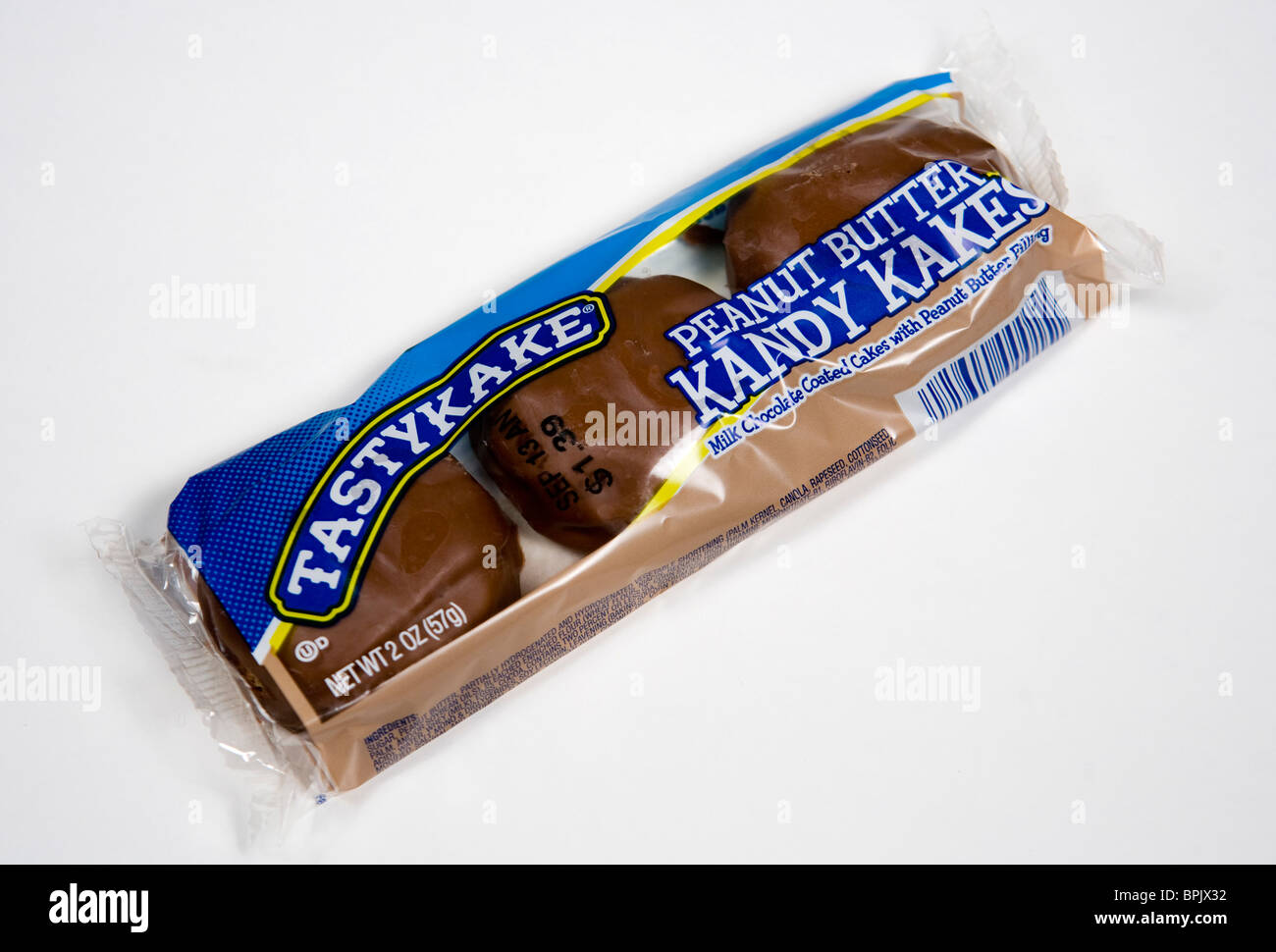 Tastykake Peanut Butter Kandy Kakes. - Stock Image