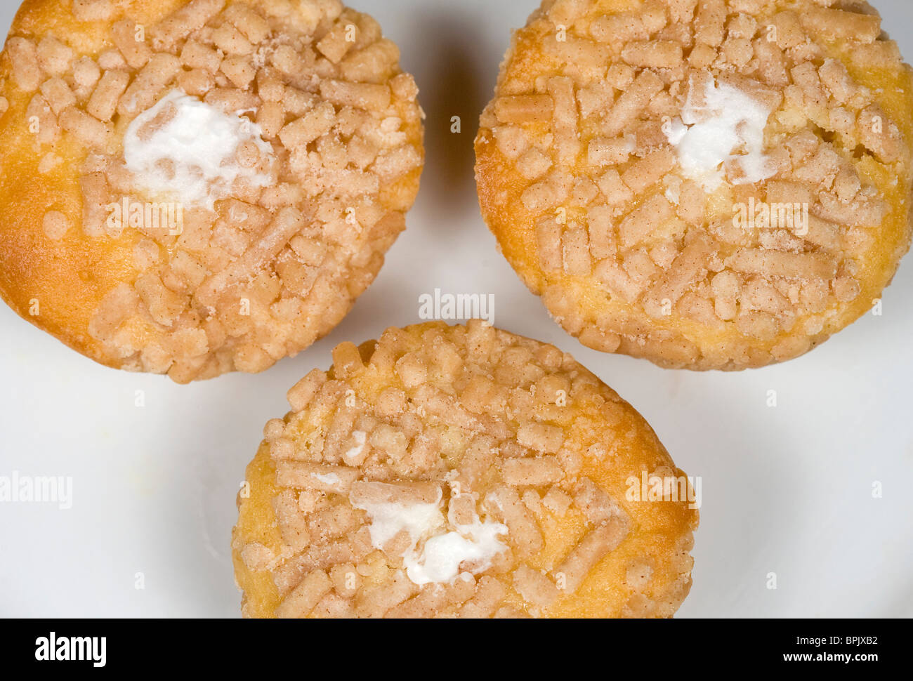Tastykake cream filled Koffee Kake cupcakes. - Stock Image