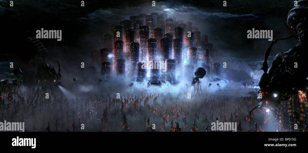 MACHINE CITY THE MATRIX REVOLUTIONS (2003) - Stock Image