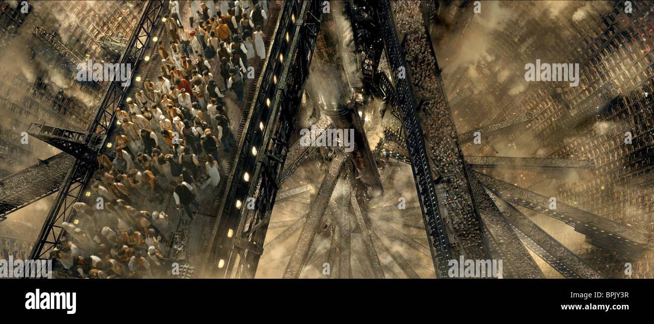 ZION WALKWAYS THE MATRIX REVOLUTIONS (2003) - Stock Image