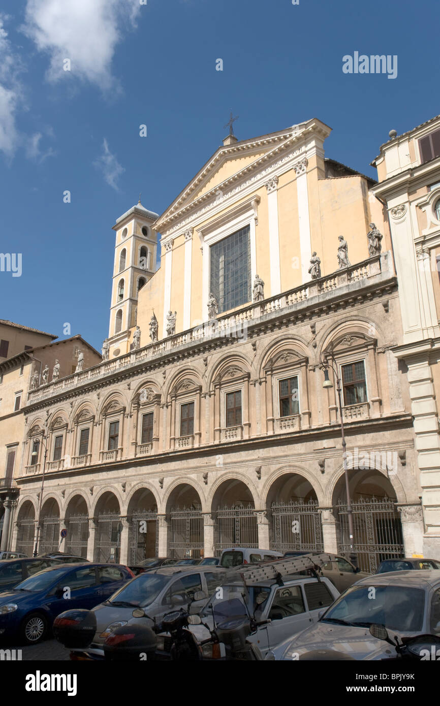 Basilica dei Santi Apostoli, Rome - Stock Image