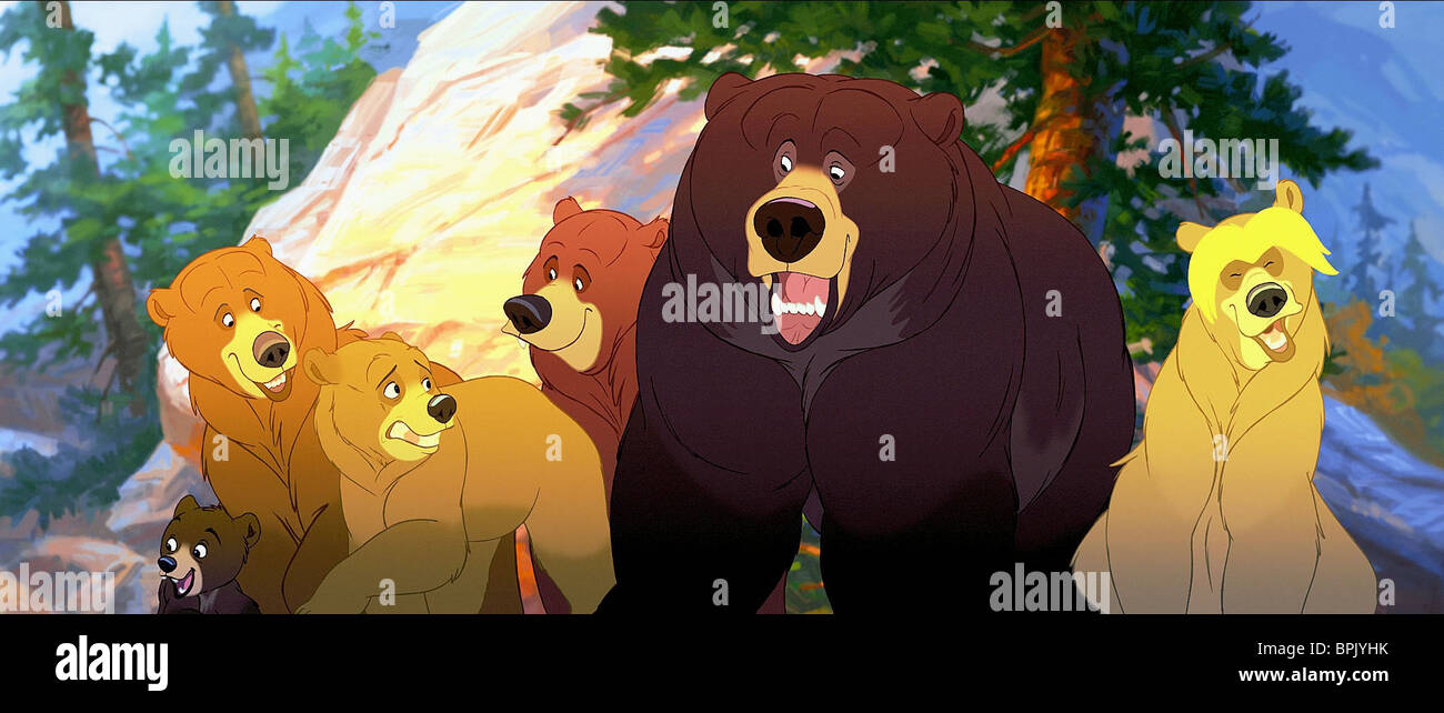 Koda Kenai Tug Brother Bear 2003 Stock Photo Alamy