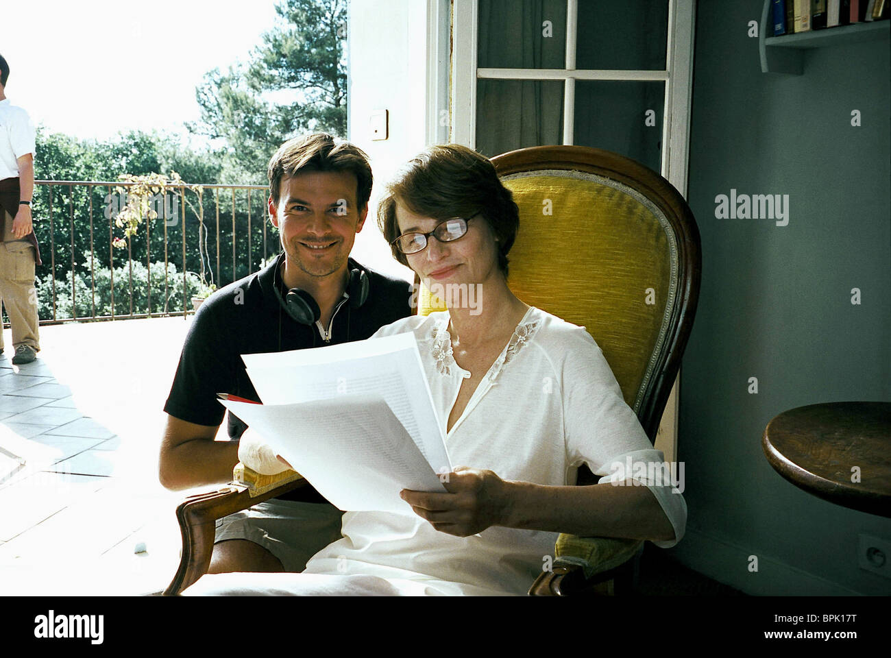 Ozon film still stock photos ozon film still stock images alamy for Charlotte rampling the swimming pool