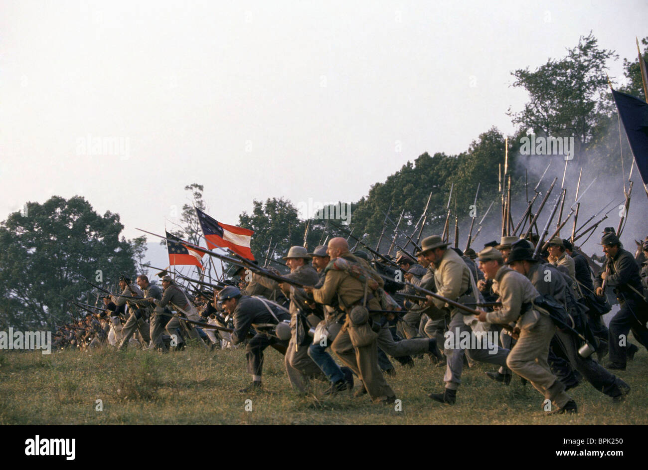 THE BATTLE OF MANASSAS GODS AND GENERALS (2003) - Stock Image