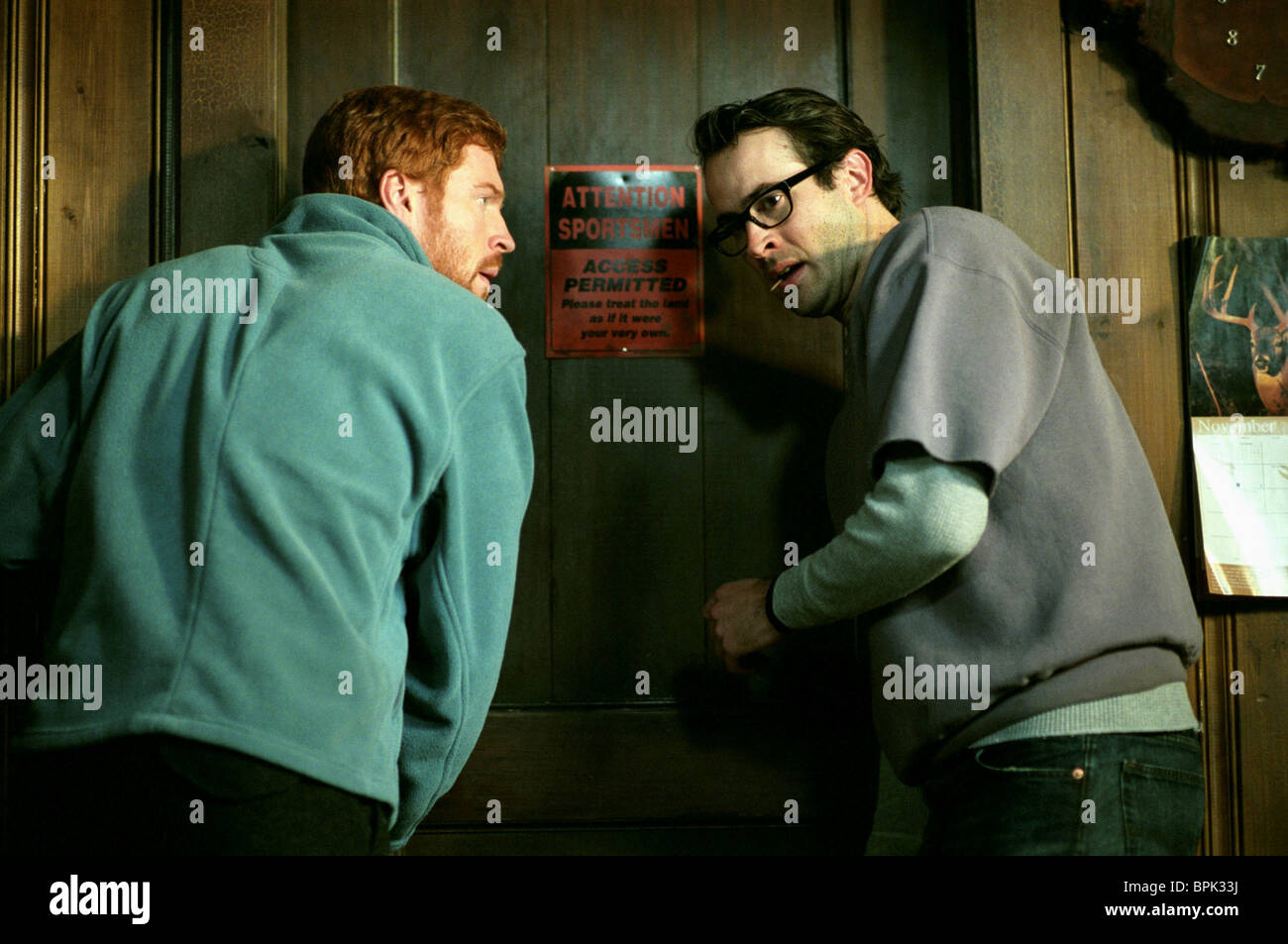DAMIAN LEWIS & JASON LEE DREAMCATCHER (2003) - Stock Image