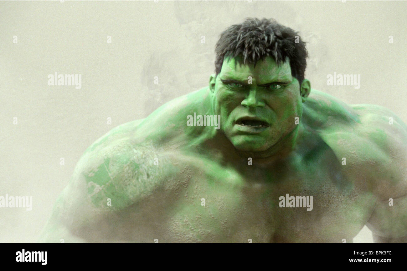HULK THE HULK (2003) - Stock Image