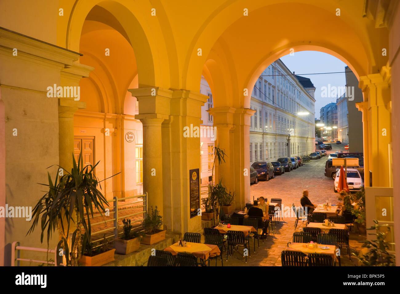 Wien, Abend - Stock Image