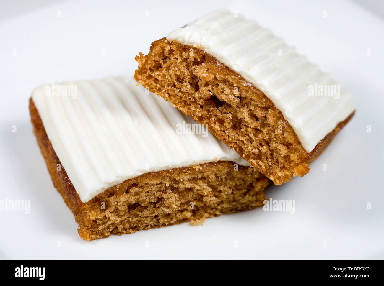 Mrs. Freshly's Carrot Cake. - Stock Image