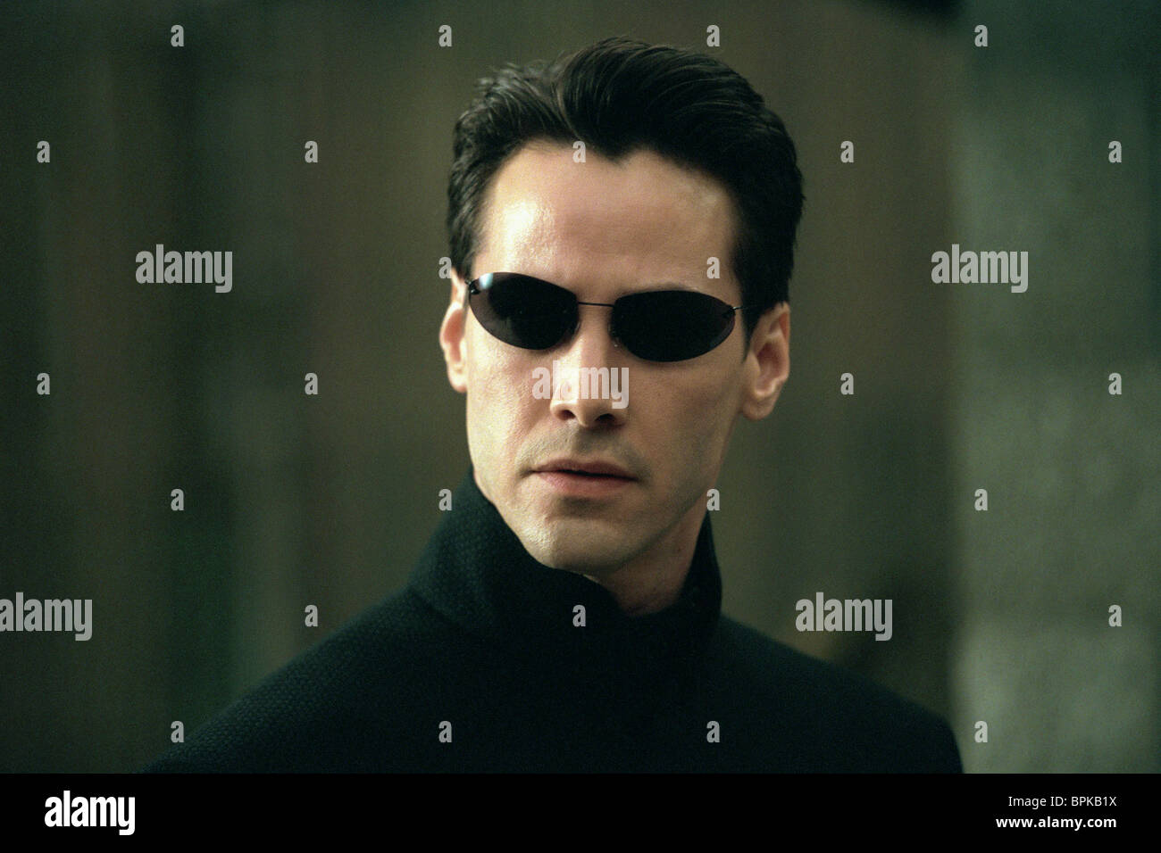 keanu reeves the matrix reloaded 2003 stock photo 31158566 alamy