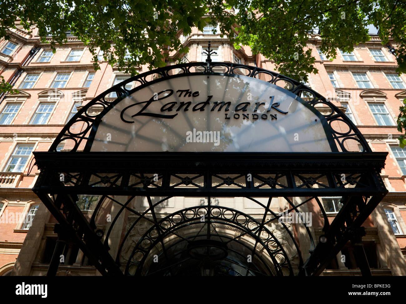 The Landmark Hotel, Marylebone Road, London Stock Photo