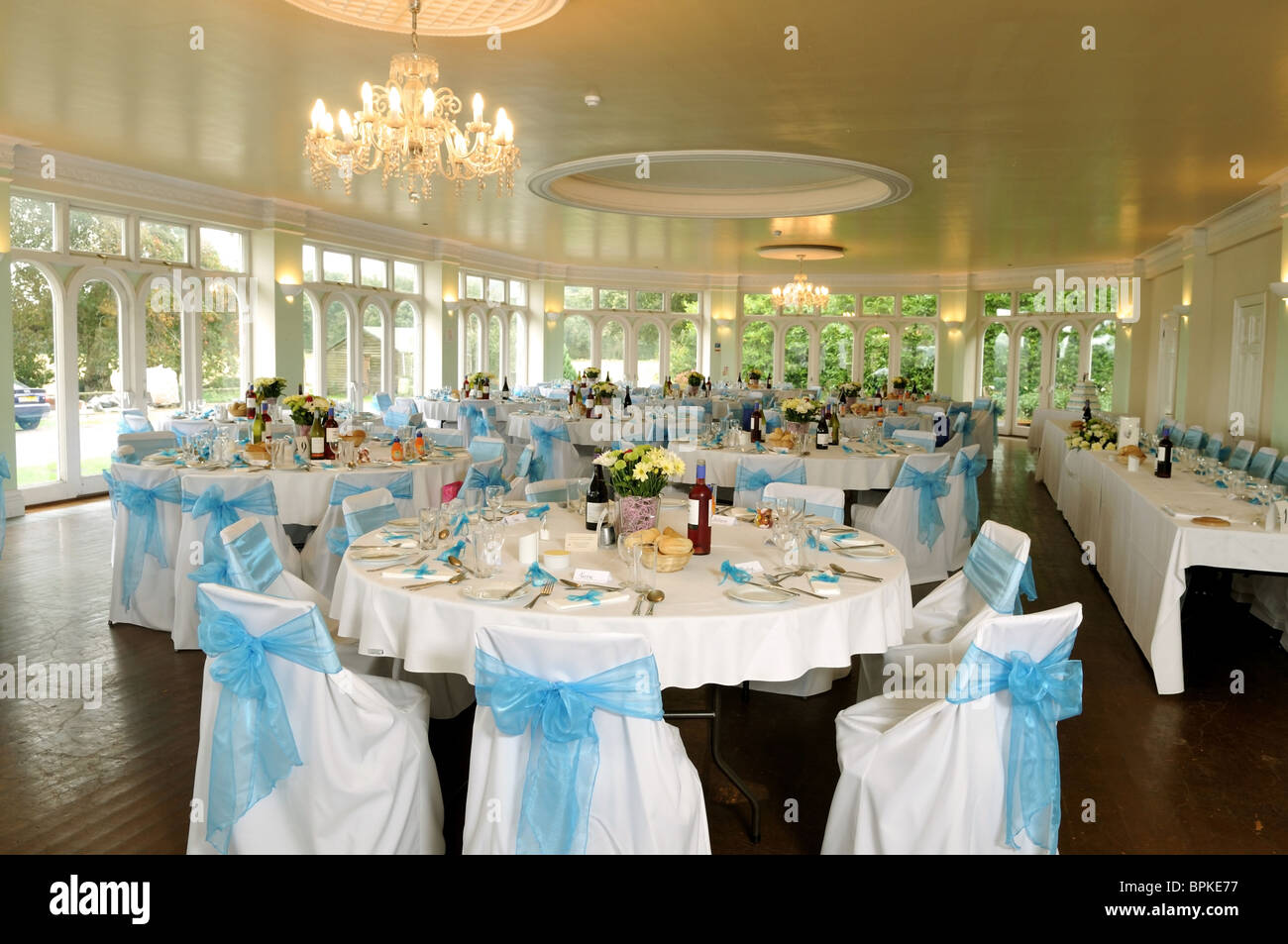 wedding reception table layout stock photo  31161067