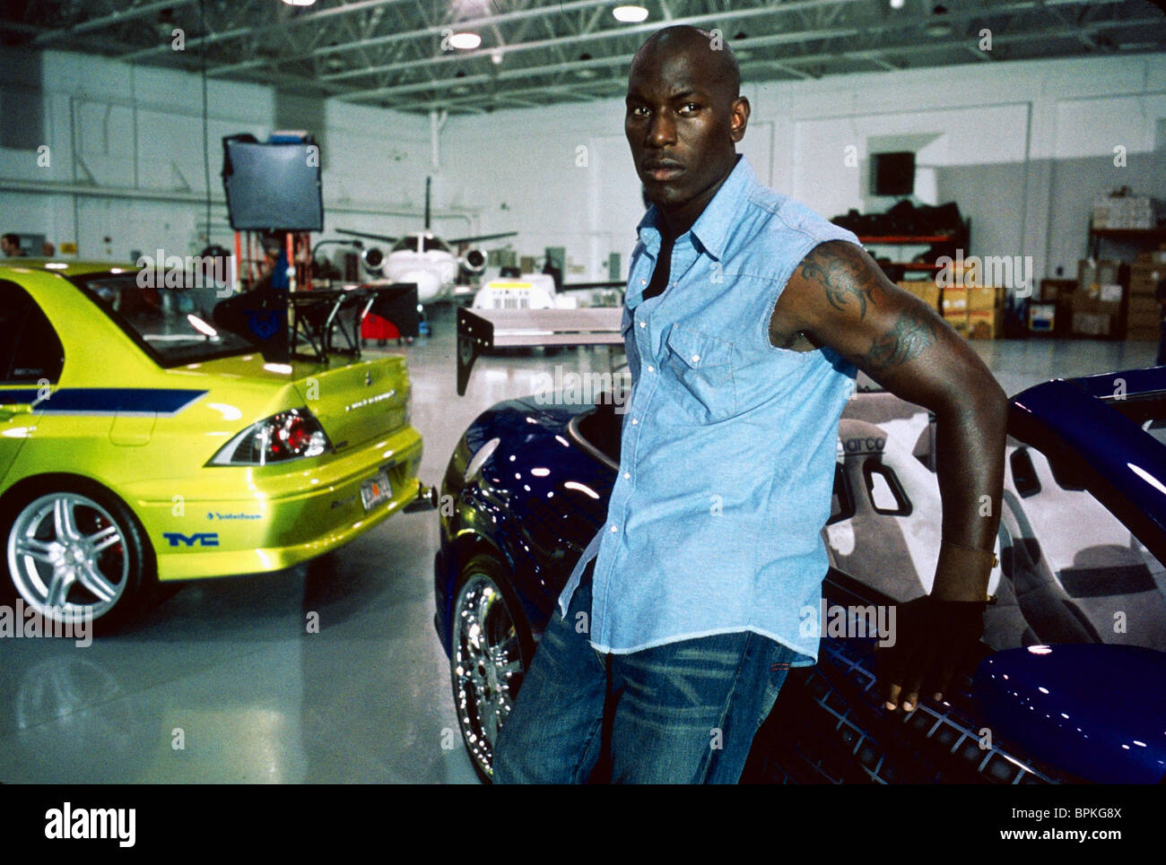 TYRESE GIBSON 2 FAST FURIOUS THE AND 2003