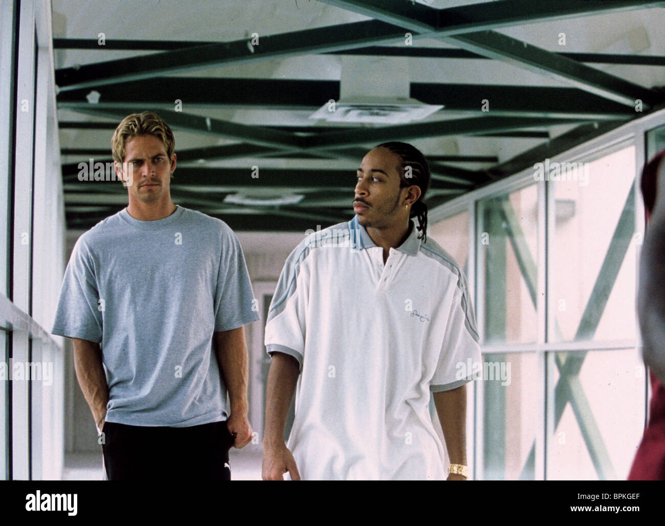 PAUL WALKER CHRIS LUDACRIS BRIDGES 2 FAST FURIOUS THE AND 2003