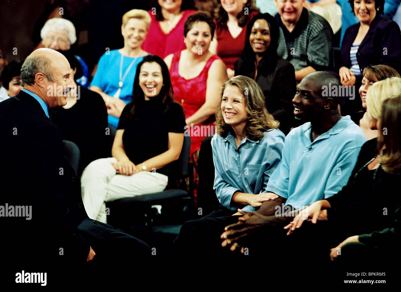 PHIL MCGRAW & AUDIENCE DR. PHIL (2003) - Stock Image