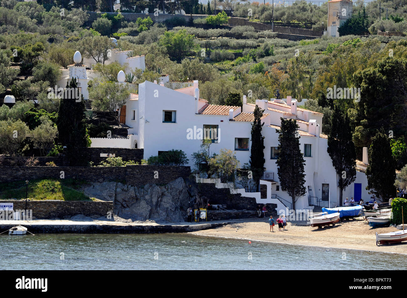 Salvador Dali House Museum In Port Lligat Near Cadaques Catalonia Stock Photo Alamy