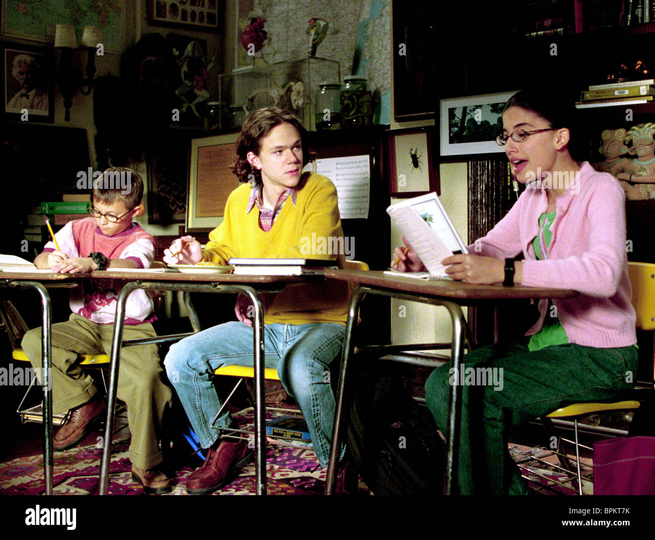 MATT WEINBERG, JOSEPH CROSS, TANIA RAYMONDE, THE O'KEEFES, 2003 Stock Photo