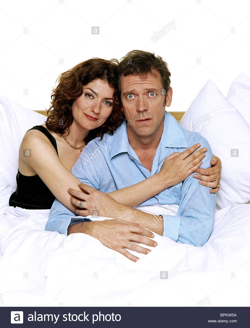 ANNA CHANCELLOR & HUGH LAURIE FORTYSOMETHING (2003) - Stock Image