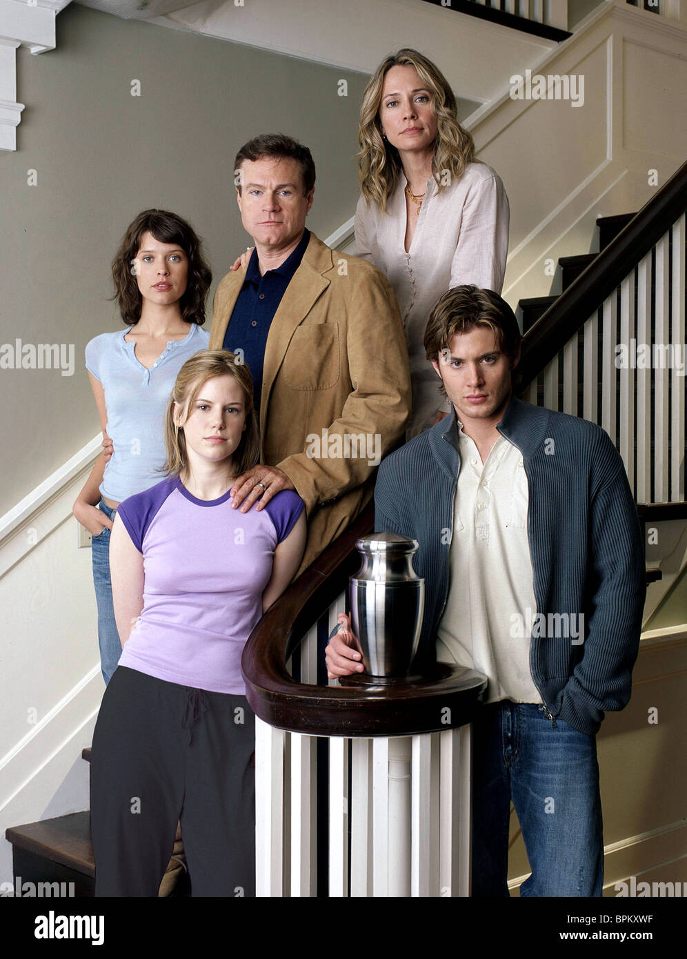 AUDREY MARIE ANDERSON JEANETTE BROX DAVID KEITH SUSANNA THOMPSON & JENSEN ACKLES STILL LIFE (2003) - Stock Image