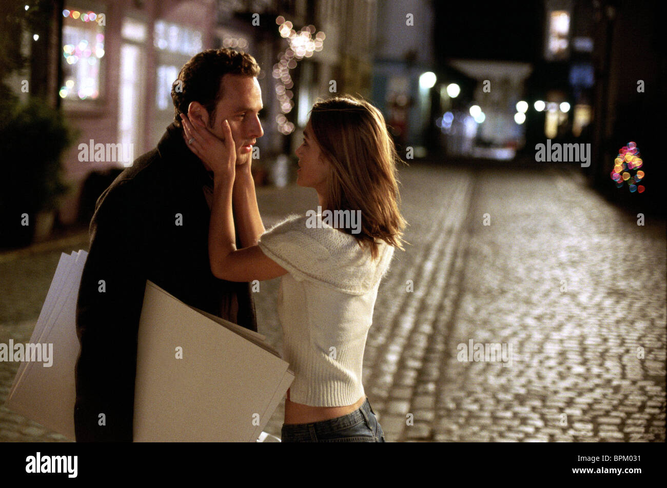 ANDREW LINCOLN & KEIRA KNIGHTLEY LOVE ACTUALLY (2003) - Stock Image