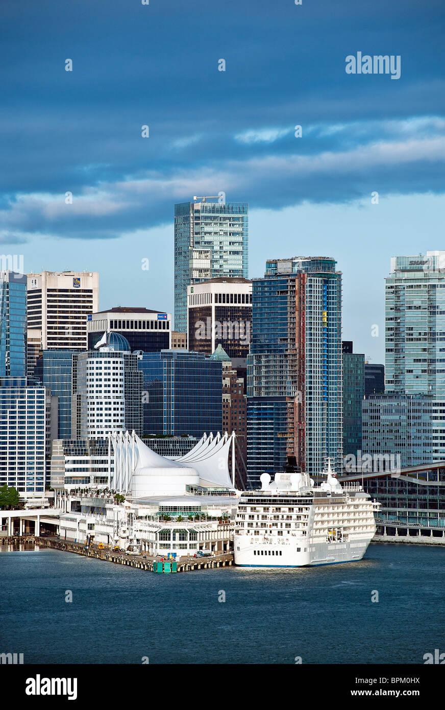 Vancouver skyline, Canada - Stock Image