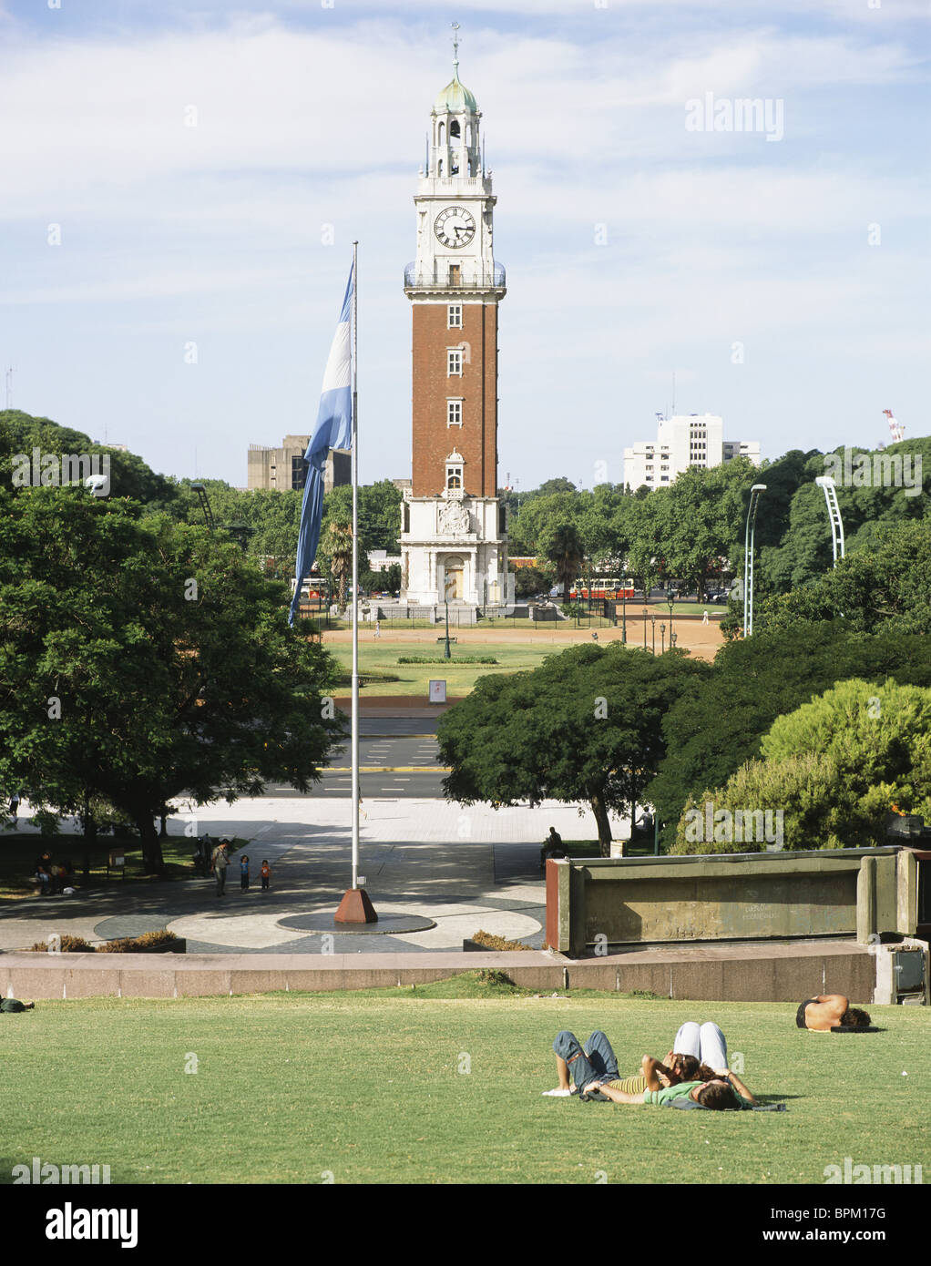 Plaza San Martin, Buenos Aires, Argentina - Stock Image