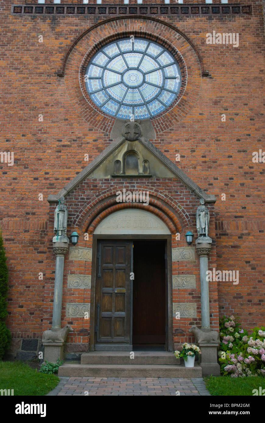 Sankt Peders kirke (St Peter's church) Roskilde Denmark Europe - Stock Image