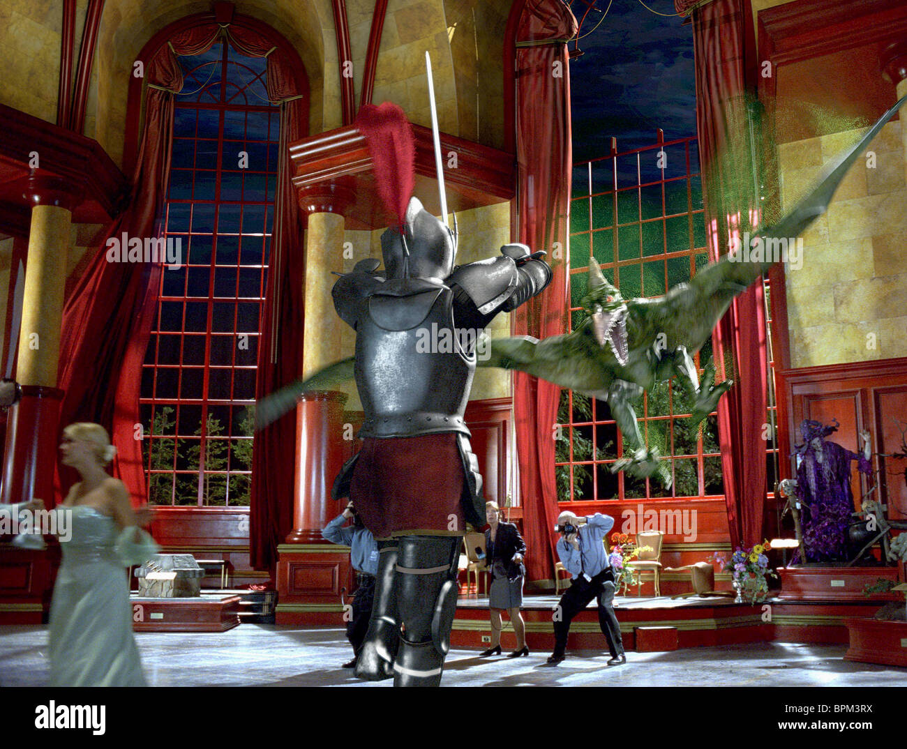Pterodactyl Attacks Suit Of Armour Scooby Doo 2 Monsters Unleashed Stock Photo Alamy