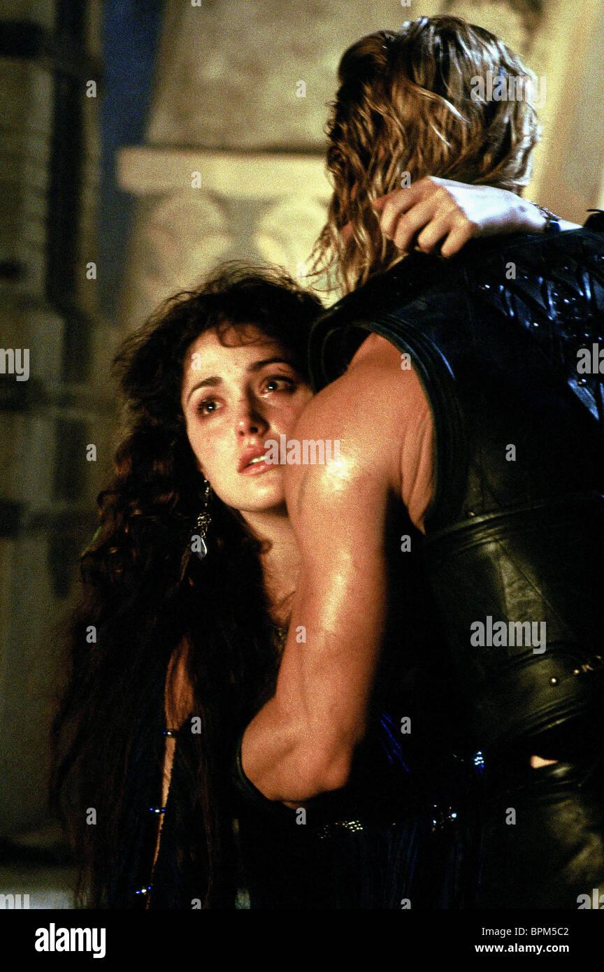 Rose Byrne Brad Pitt Troy 2004 Stock Photo Alamy