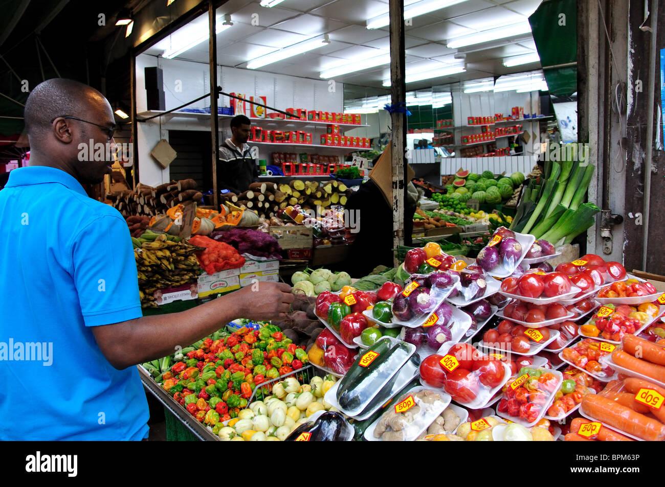Brixton Market London Food