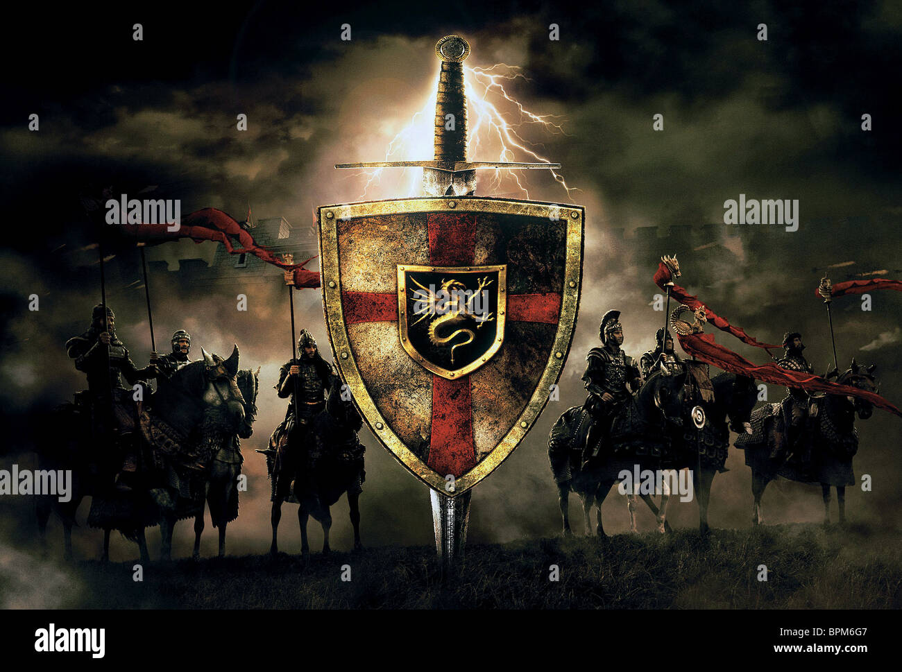 Knights of the round table stock photos knights of the - King arthur and the knights of the round table ...