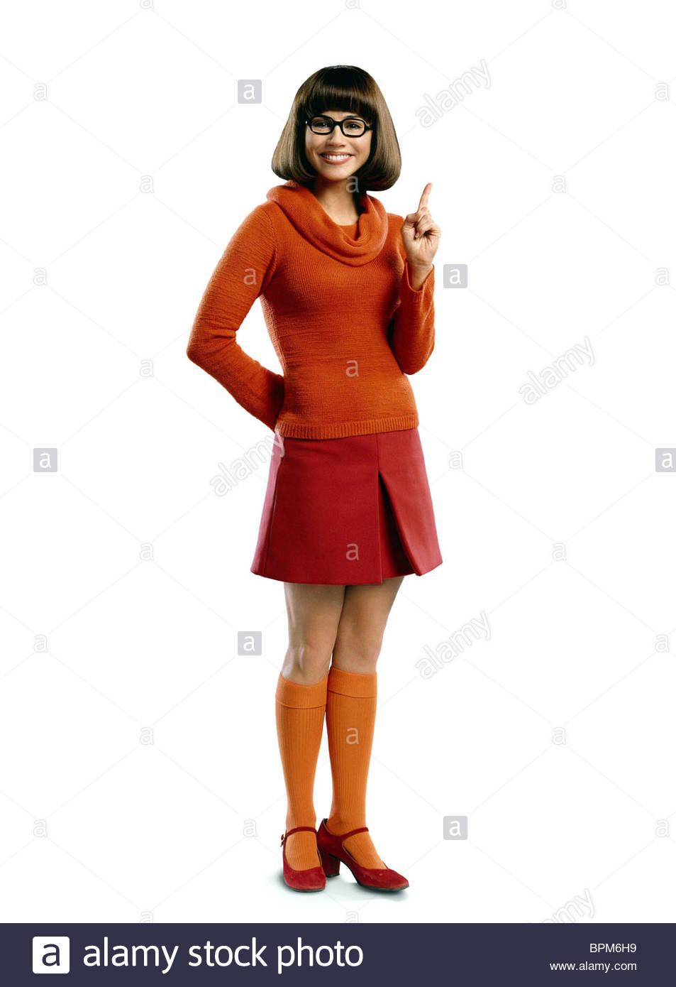 Linda Cardellini Scooby Doo 2 Monsters Unleashed 2004 Stock Photo Alamy