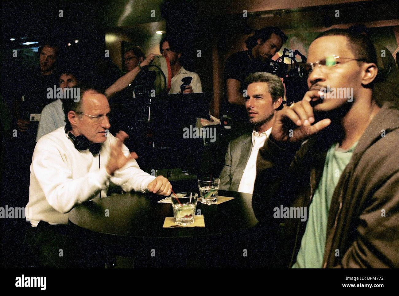 Michael Mann Tom Cruise Jamie Foxx Collateral 2004 Stock Photo Alamy