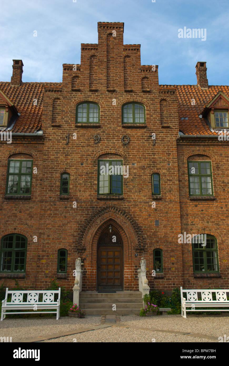 Sortebrodre Kloster the Black Friars Monastery central Roskilde Denmark Europe - Stock Image