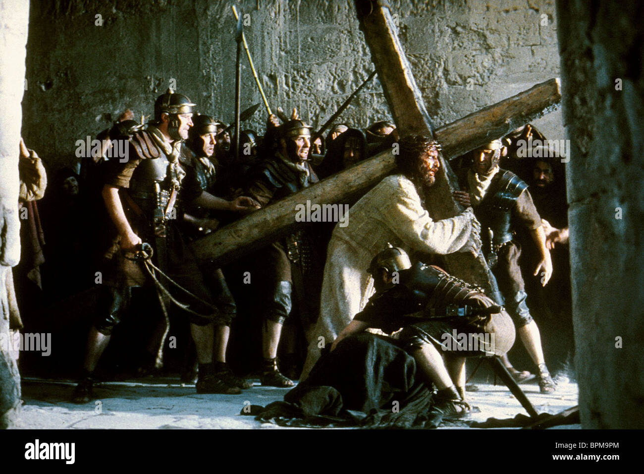 JAMES CAVIEZEL THE PASSION OF THE CHRIST (2004) - Stock Image