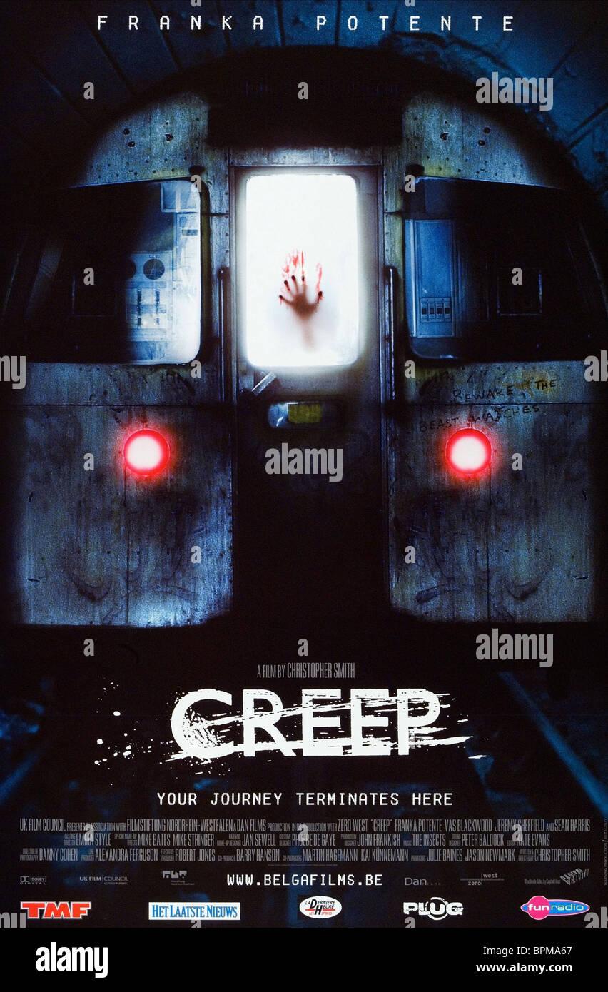 FILM POSTER CREEP (2004) - Stock Image