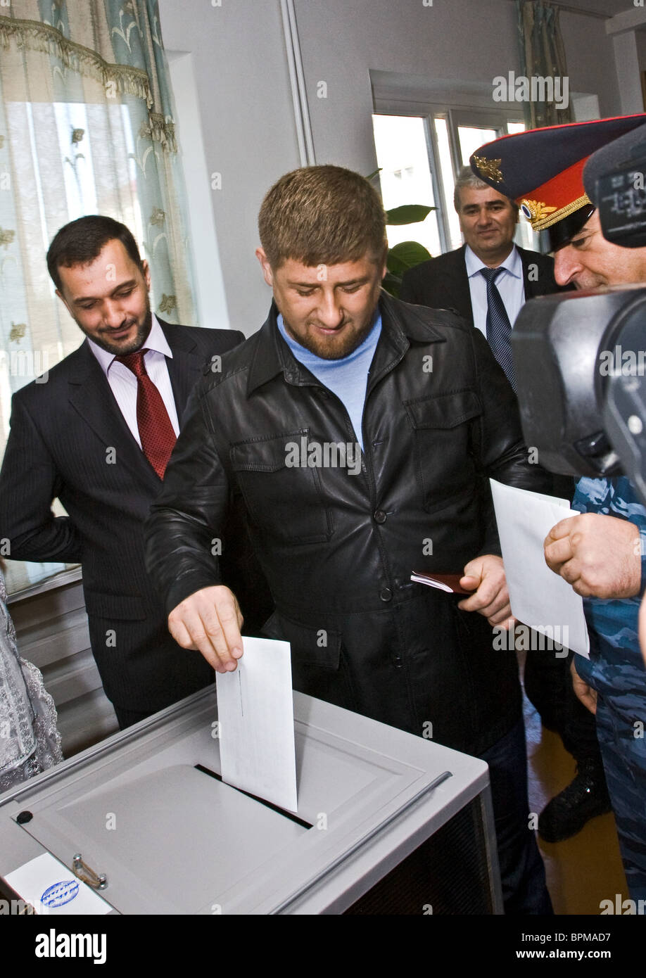 Russia holds elections of legislative assemblies - Stock Image
