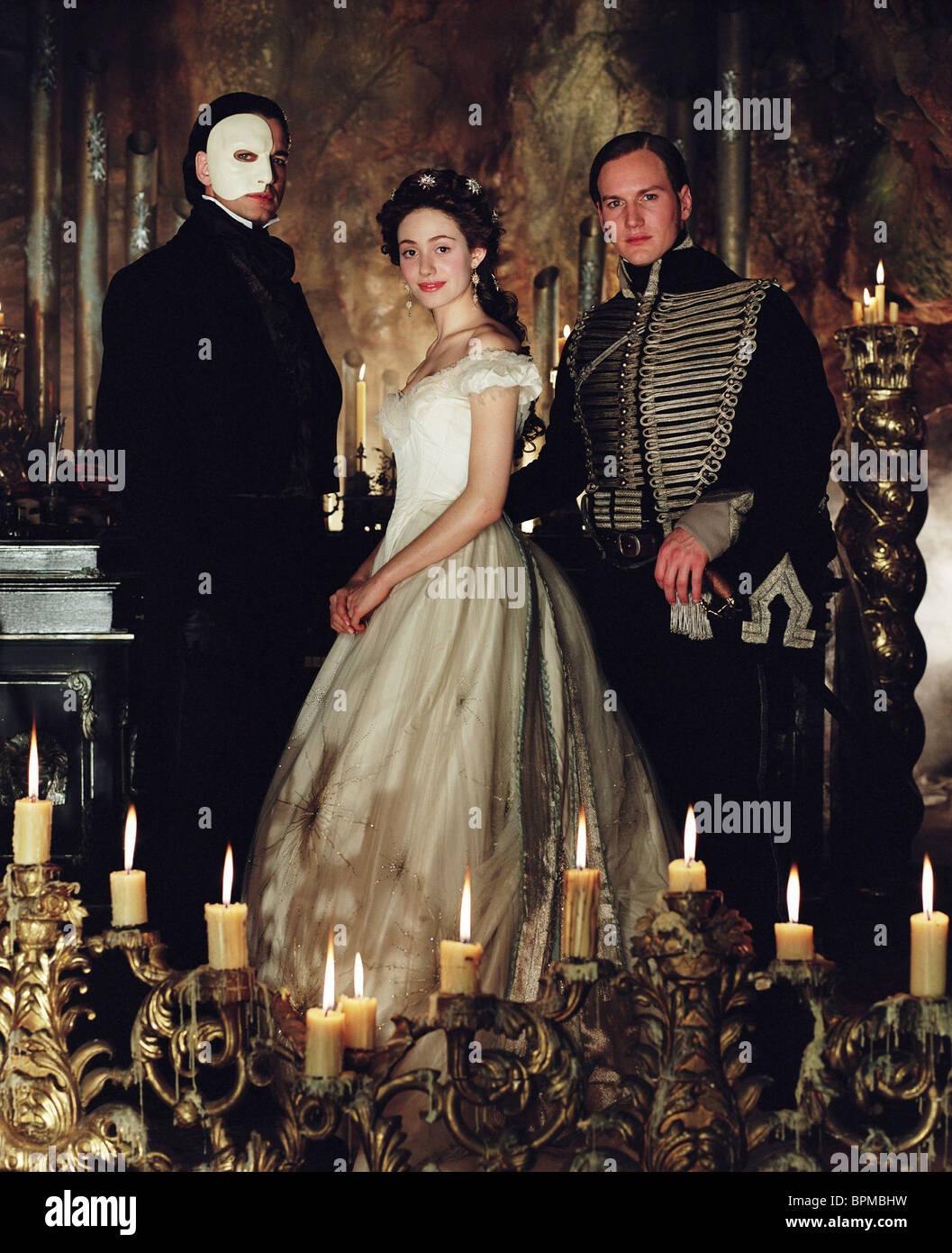 GERARD BUTLER EMMY ROSSUM & PATRICK WILSON THE PHANTOM OF ... Patrick Wilson Phantom Of The Opera