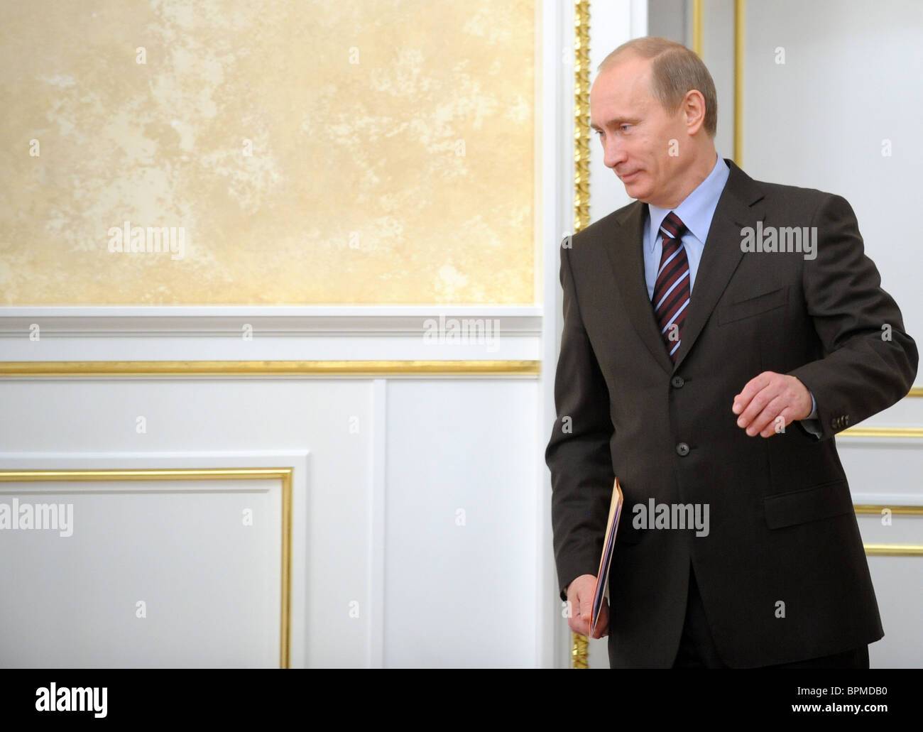 Russian government in session, November 17, 2008 - Stock Image