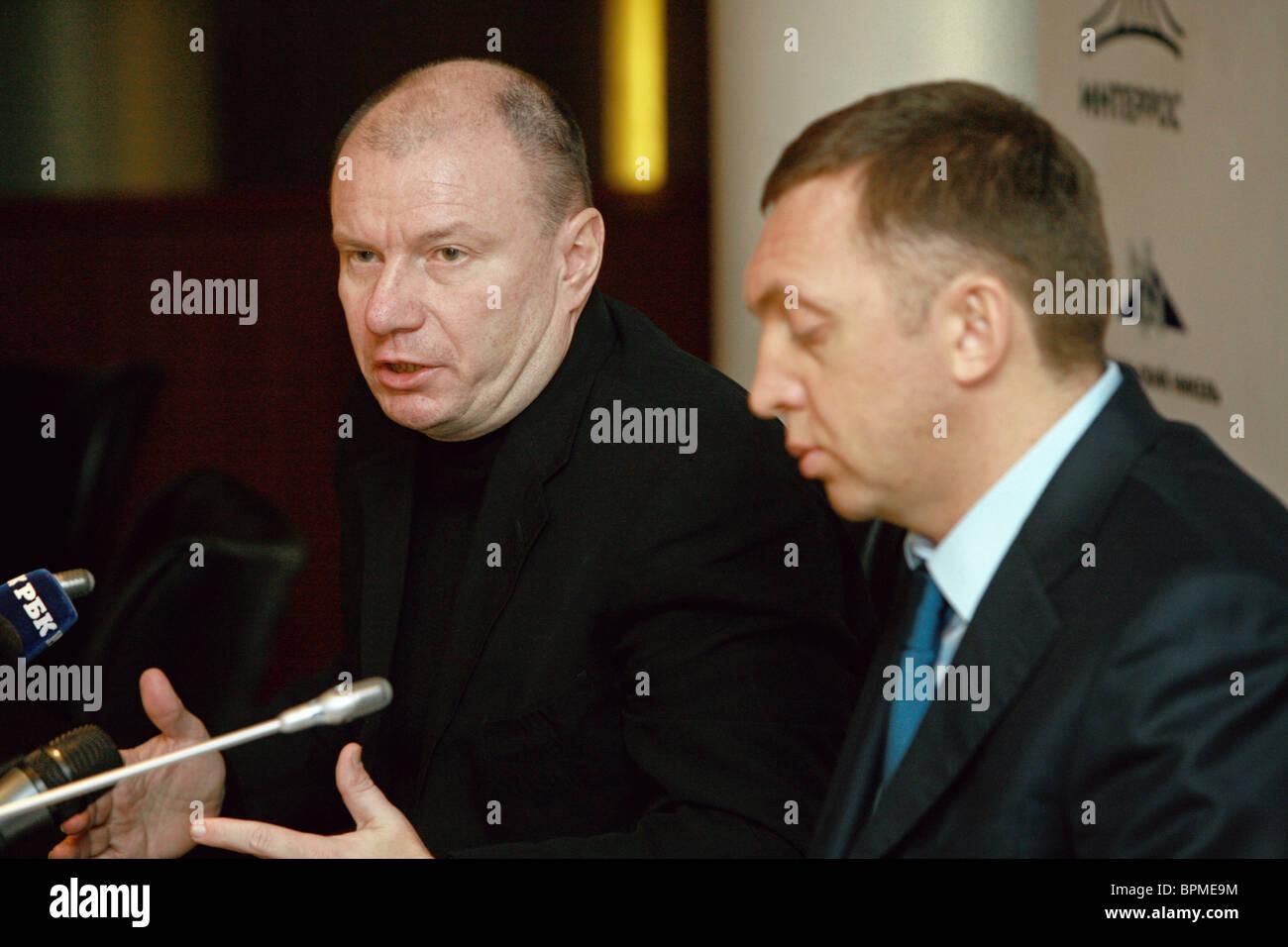 Norilsk Nickel investors agree on company's strategy Stock Photo