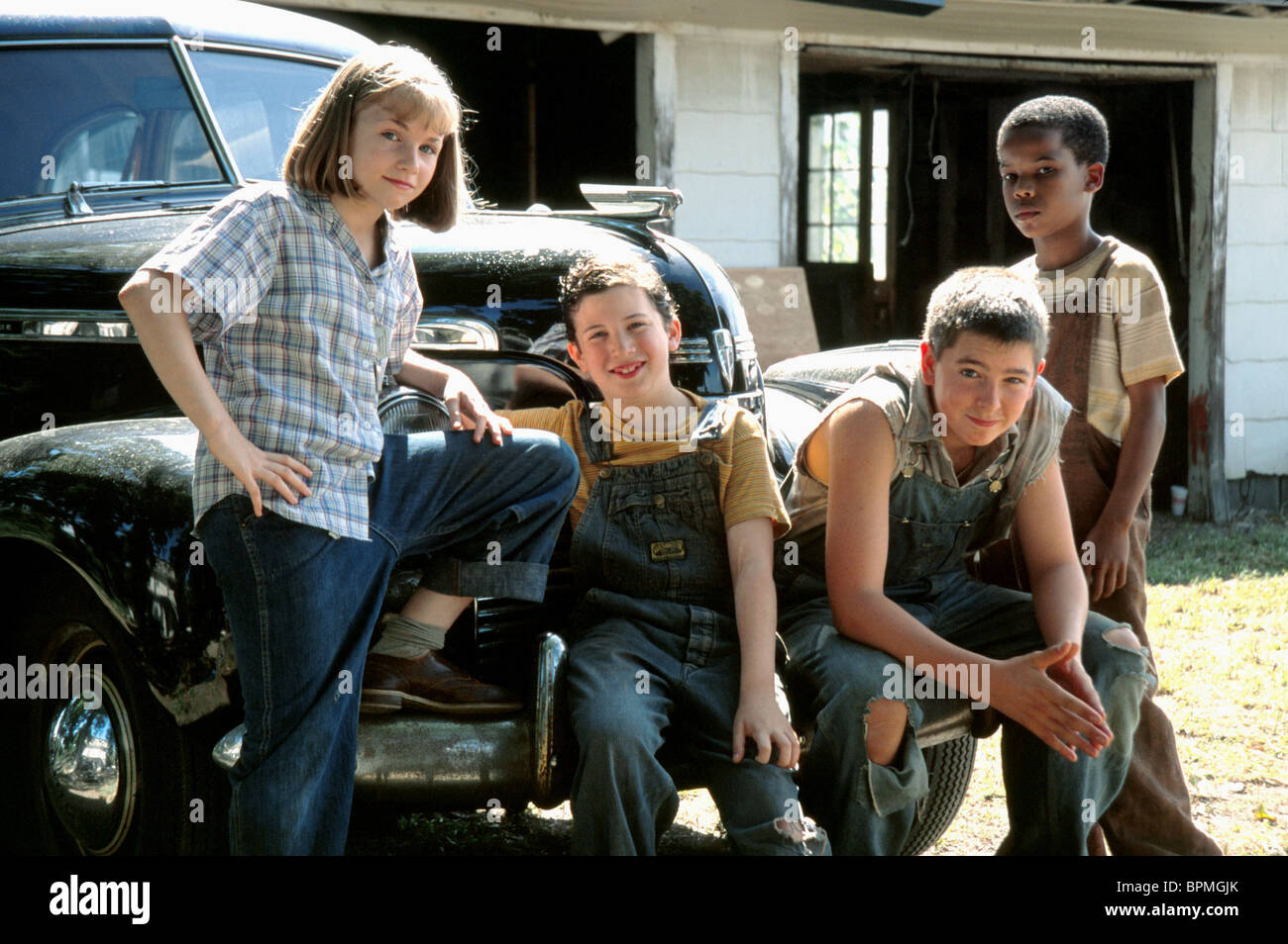 ASHLEY ROSE ORR HARRISON CHAD NICHOLAS BRAUN & DAJON MATTHEWS CARRY ME HOME (2004) - Stock Image