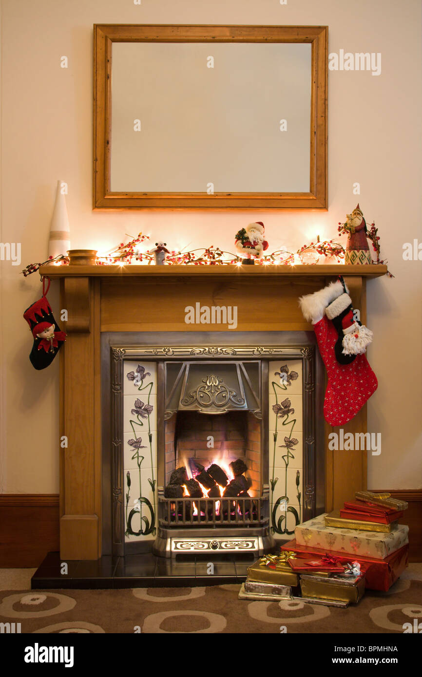 Victorian Fireplace Flames Stock Photos Amp Victorian