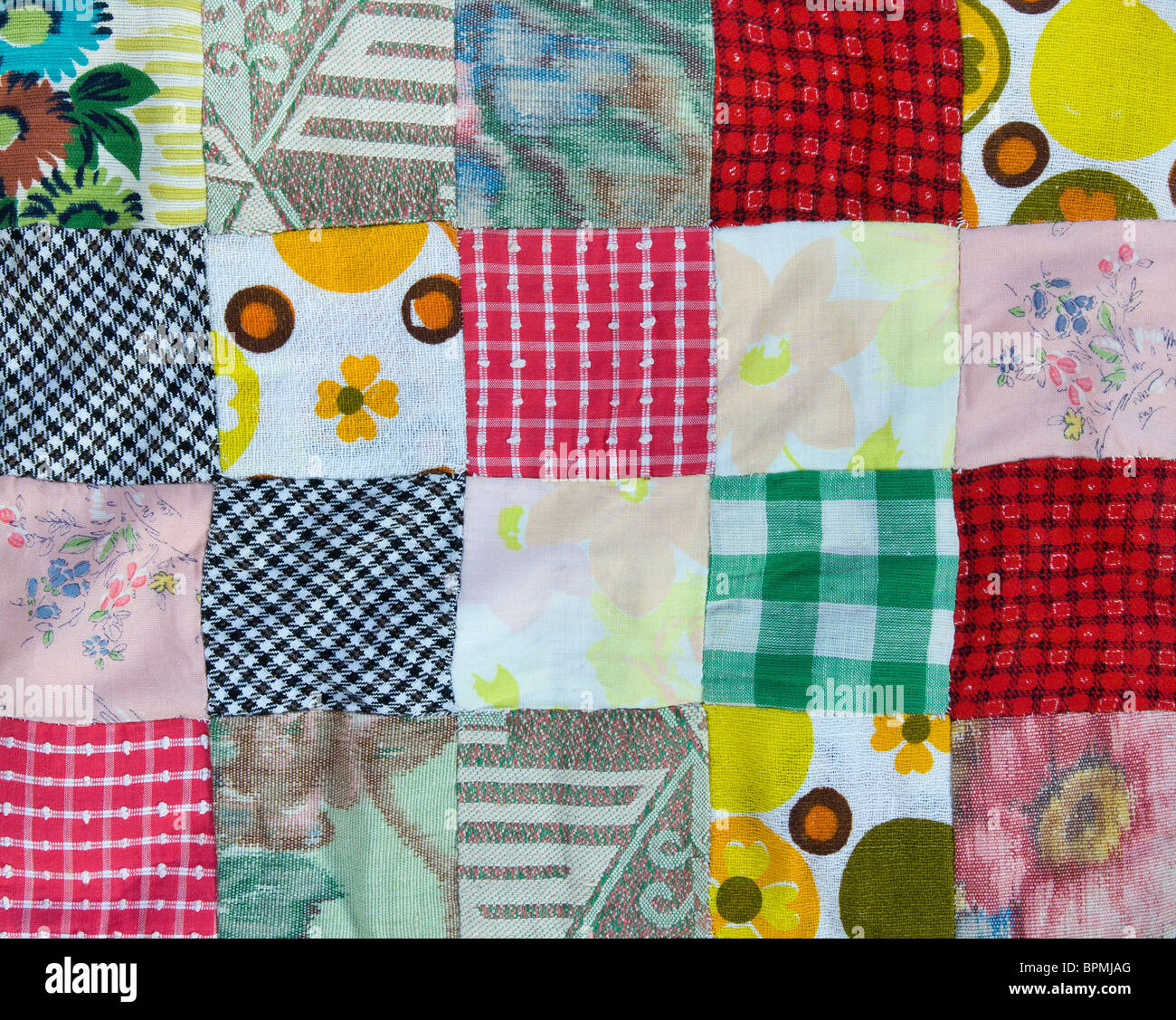 Patchwork background - Stock Image