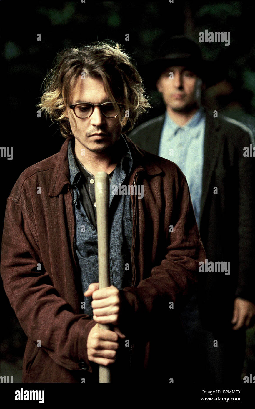 Johnny Depp John Turturro Secret Window 2004 Stock Photo