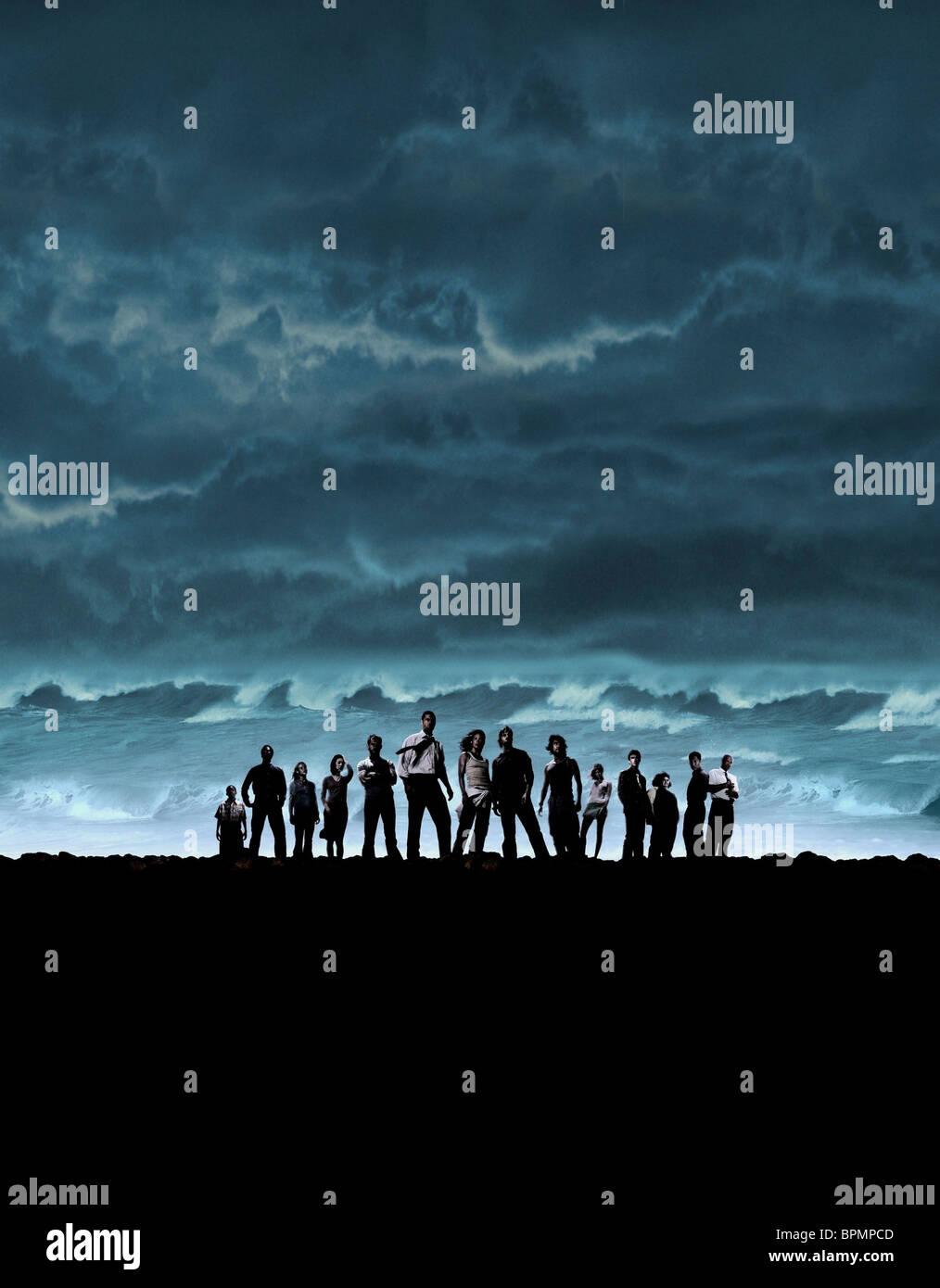 PLANE CRASH SURVIVORS LOST : SEASON 1 (2004) - Stock Image