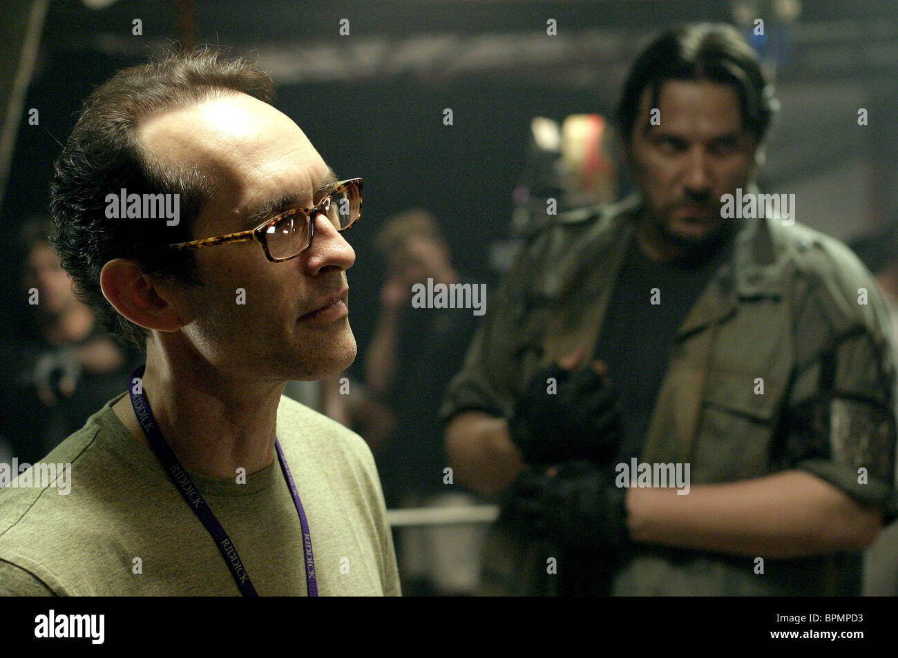 DAVID TWOHY & VITALY KRAVCHENKO PITCH BLACK 2: THE CHRONICLES OF RIDDICK (2004) - Stock Image